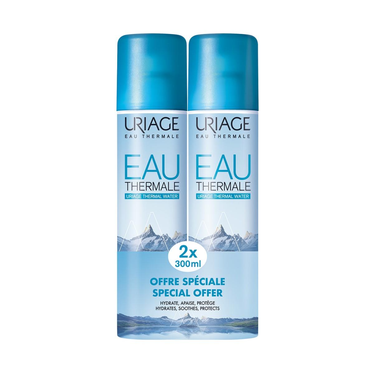 Uriage Pack Água Termal 2x300ml